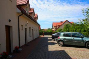 Pensjonat Fala w Rowach z zewnątrz